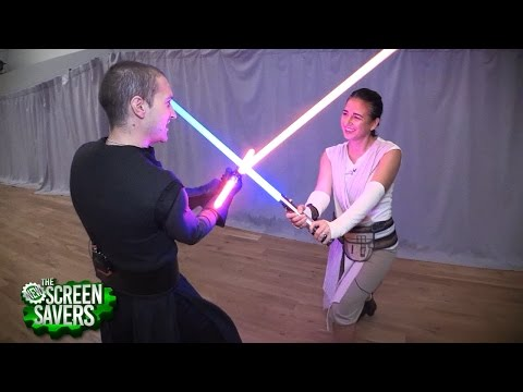 Golden Gates Knights' Lightsaber Battle
