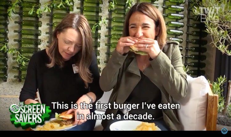 The Meatless Burger From Impossible Foods